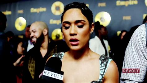 the name of the actress on empire who has a short haircuts interview the cast of quot empire quot revolt revolt the