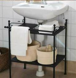 the bathroom sink shelf creative sink storage ideas hative