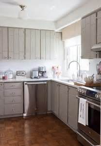 Light Grey Painted Kitchen Cabinets Gray Kitchen Cabinets Contemporary Kitchen Pynn