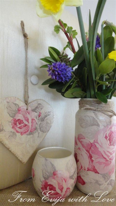 Decoupage Using Paper Napkins - 17 best images about decoupage glass jars and tins on