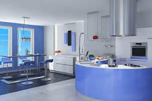 Blue Kitchen Design by Some Modern Blue Kitchen Cabinets To Remodeling Your