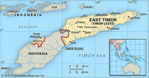 East Timor Location On World Map by I Was Here East Timor