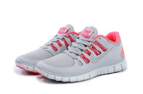 nike free 5 0 womens running shoes light gray bright
