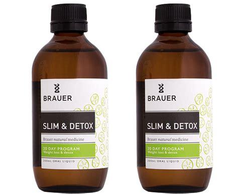 Brauer Detox by Brauer Slim Detox Liquid 200ml 2pk Groceryrun
