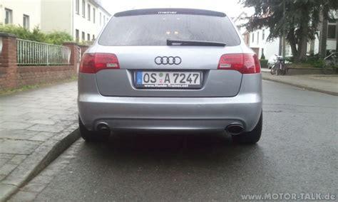Audi A6 4f Auspuffblende by 2011 05 12 18 37 16 Auspuffblende Endrohrblende Audi