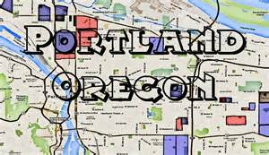 Portland Gang Map by The Gallery For Gt Compton Crips And Bloods Map