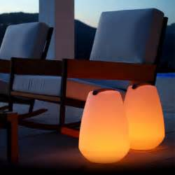 portable outdoor lighting vessel outdoor portable led l smart green