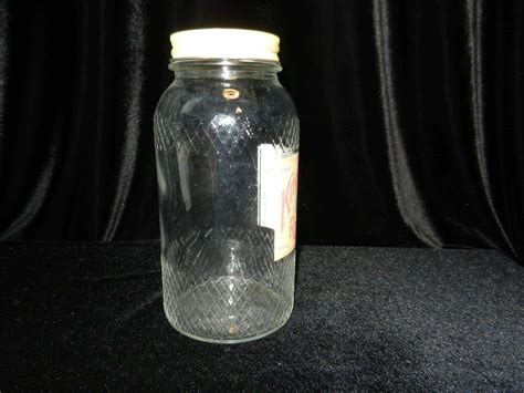 vintage glass ls vintage kitchen queen glass jar my grandmother