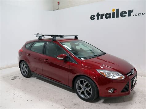 Ford Focus 2013 Roof Rack by 2013 Ford Focus Rhino Rack Road Warrior Rooftop Bike Carrier Fork Mount