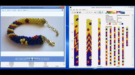 design pattern software tutorial design tubular bead crochet jewelry patterns with jbead