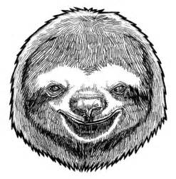 sloth mask template sloth mask wearable black and white anthropomorphic