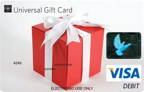 Picture Of Visa Gift Card - universal visa gift card gift box