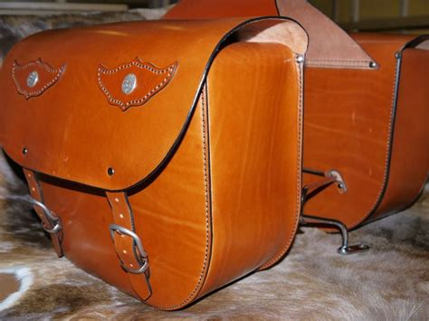 Handmade Leather Saddlebags - motorcycle saddlebags handmade leather moto
