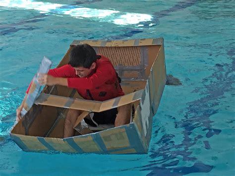 cardboard boat competition gwendolyn brooks college - Cardboard Boat Competition