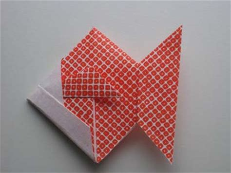 Origami Paper Edmonton - origami goldfish folding how to make