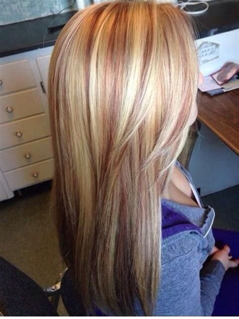 pink highlights hair older women 1000 ideas about red blonde highlights on pinterest red