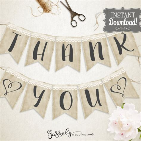 Wedding Bunting Banner by Banners Bunting Wedding Printables