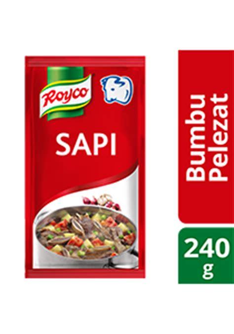 Royco Bumbu Ekstra Daging Sapi ruang sempit di food truk tidak masalah unilever food solutions id