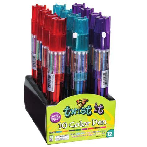10 color pen cool pens twist it 10 color pen shop geddes