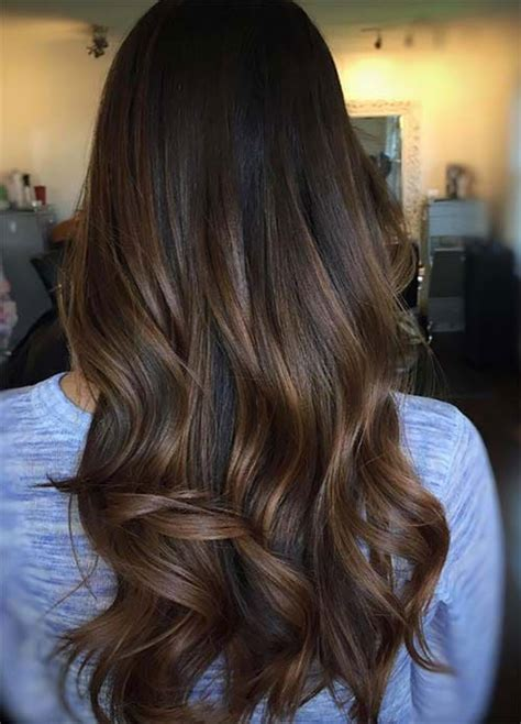 light brown highlights on black hair top balayage for hair black and brown hair
