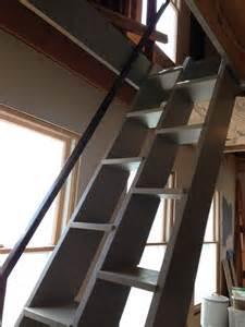 Alternate Tread Stairs Design Alternating Tread Stair W Steel Rail Bertram Design Llc