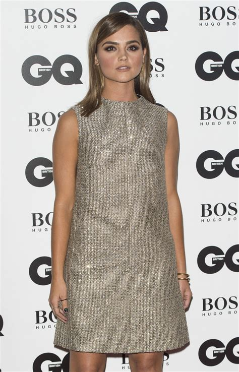2015 Man Of The Year Gq Awards | jenna coleman gq men of the year awards 2015 in london