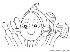 nemo coloring pages nemo fish coloring pages realistic coloring pages