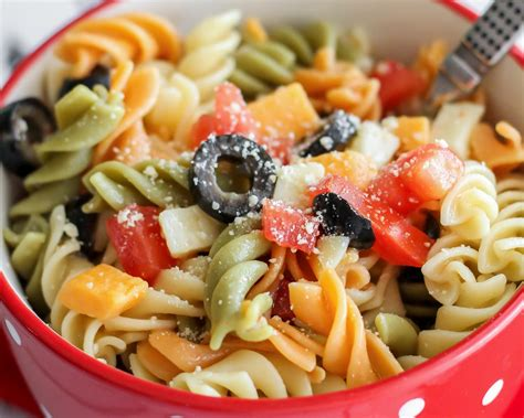 pasta salad with rotini easy pasta salad recipe with italian dressing lil luna