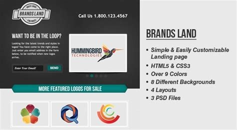 pr portfolio template brandsland template website themeforest