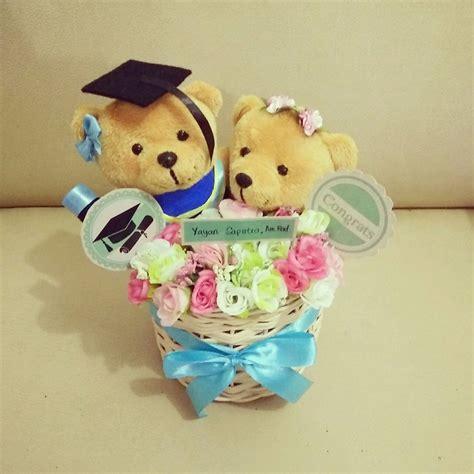 Boneka Wisuda Teddy Special Graduation teddy basket jual boneka teddy