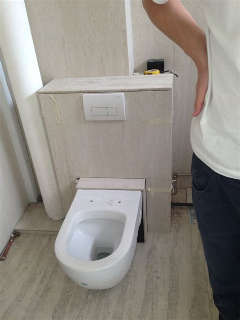 How To Plumb A Wall Mounted Toilet by Reliable Plumber Diy Wall Mounted Toilet Bowl