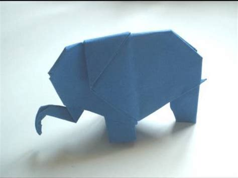 How To Fold Origami Elephant - origami elephant