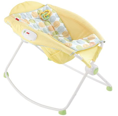 Fisher Price Rock N Play Sleeper Flat by Fisher Price Newborn Rock N Play Sleeper Yellow Dots