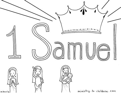 hannah and samuel coloring pages coloring pages