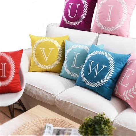 aliexpress com buy decorative pillows aliexpress com buy 26 letters cushions decorative pillow