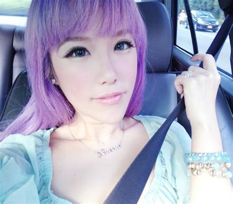 old japanese ladies purple hair xiaxue blogspot com everyone s reading it lilac
