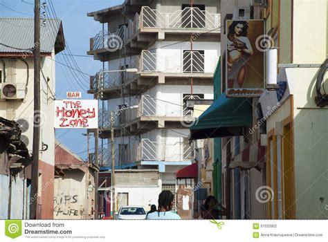 aruba light district san nicolas aruba editorial photography image 61033902