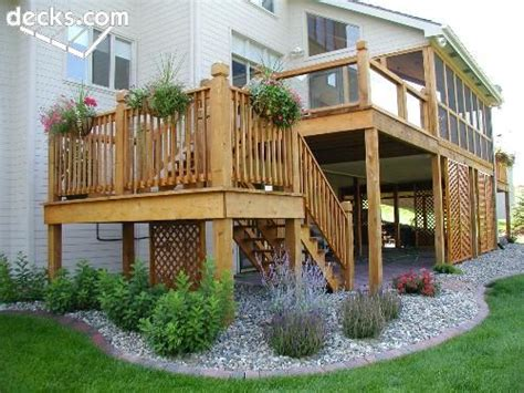deck landscaping design ideas remodel 25 best ideas about landscaping around deck on