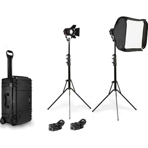 lighting for video interview fiilex k202 two light interview kit flxk202 b h photo video