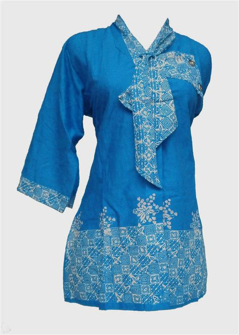 Model Baju Batik Muslim Model Jubah Batik Hairstylegalleries