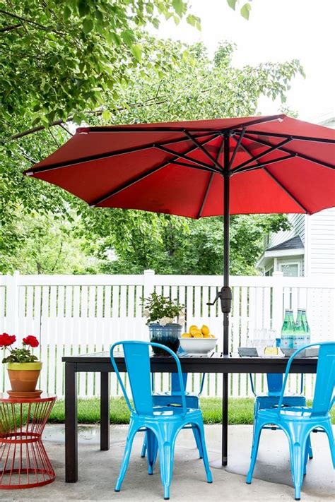 Lowes Dining Room Makeover Best 25 Blue Patio Ideas On White Patio