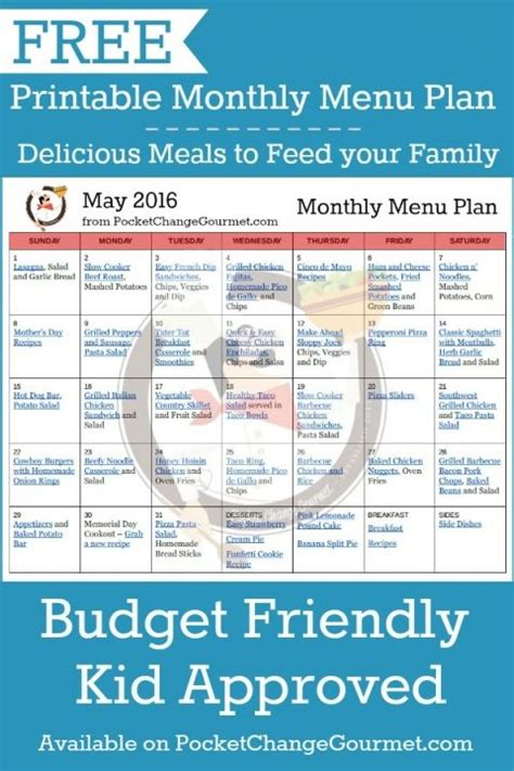 kid friendly dinner menu 17 best images about meal planning on weekly