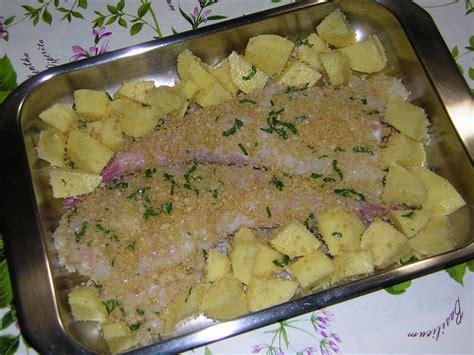 cucinare rana pescatrice al forno coda di rospo al forno con patate in cucina con zia lora