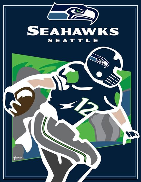 printable seahawks poster the 12th man by stourangeau on deviantart