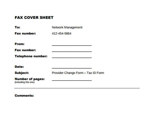 9 Sle Office Fax Cover Sheets Sle Templates Microsoft Office Templates Fax Cover Sheet