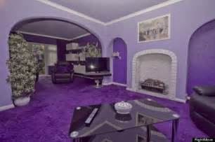 purple home decor purple house advertised on rightmove is hideous