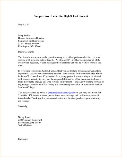 Cover Letter For Grad School by 5 Graduate School Cover Letter Sle Invoice Template
