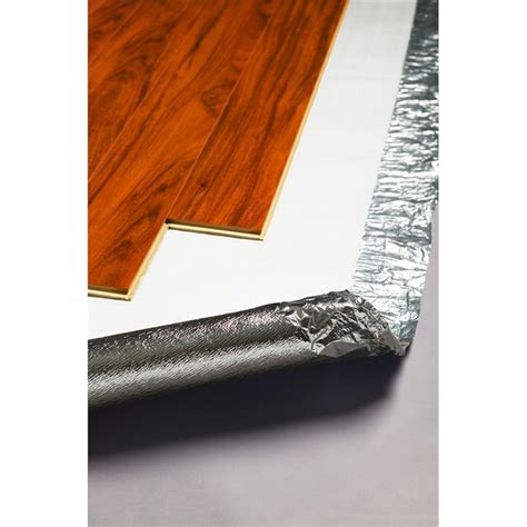 Laminate Flooring Underlayment by Qep Silver Laminate Floating Floor Underlay Bunnings