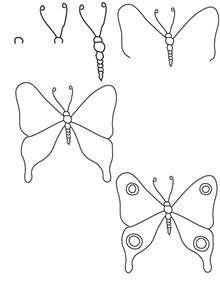 How To Draw Butterfly Drawing Butterfly