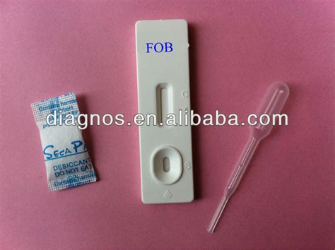 Fob Stool Test by Sale One Step Rapid Test Fob Fecal Occult Blood Test Kit